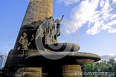 Oil monument