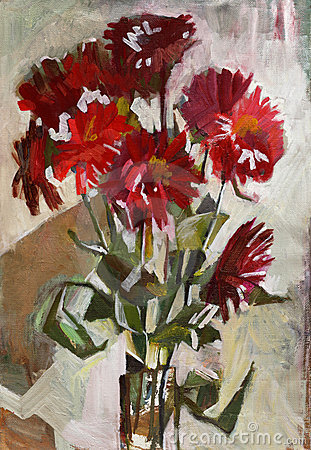 Free Oil Painting Flowers Stock Photos - 11060953