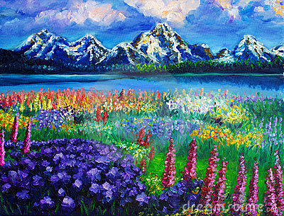Oil-Painting - Landscape