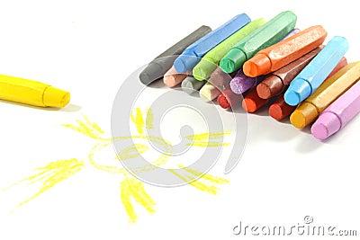 Oil pastel