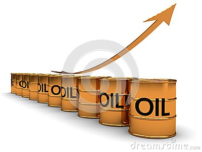 Oil price grow