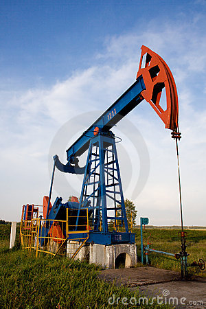 Free Oil Pump Jack Stock Photography - 3038722