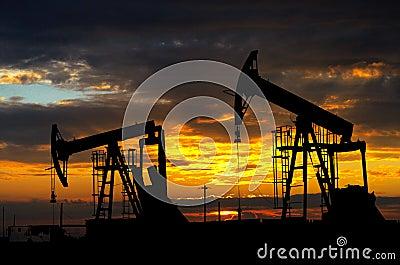 Oil pump. Oil industry equipment
