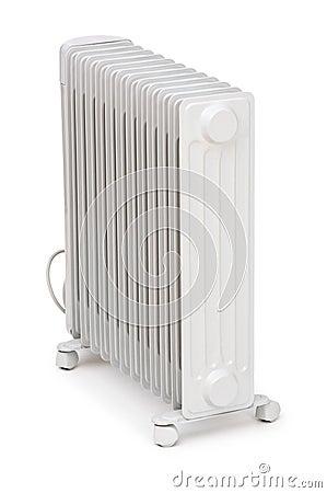 Oil radiator isolated