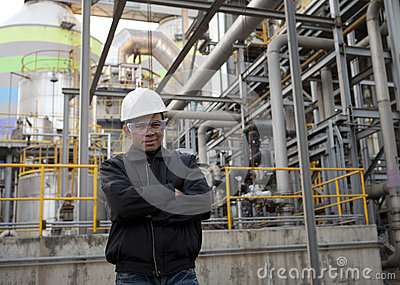 Oil refinery engineer
