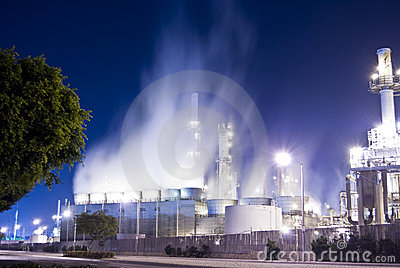 Oil refinery insdustrial