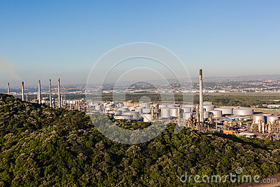 Oil Refinery Plant Editorial Photo