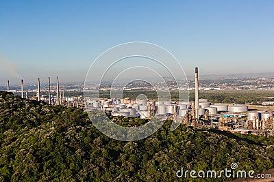Oil Refinery Plant Editorial Photo