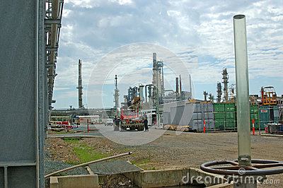 Oil refinery Editorial Photo