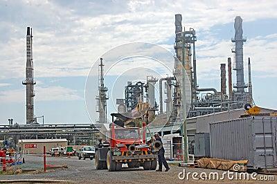 Oil refinery Editorial Photo