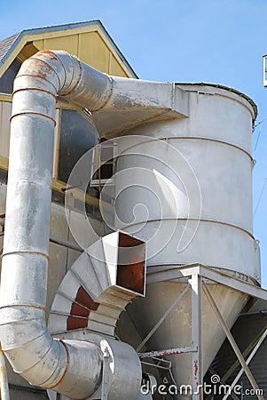Oil Refinery Ventilation System