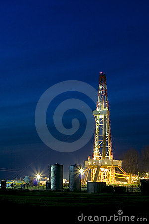 Free Oil Rig Stock Photo - 12206560