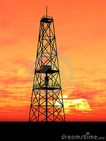 Free Oil Rig Stock Photos - 5172133