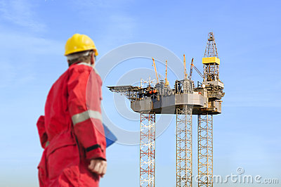 Oil rig construction