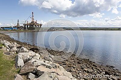 Oil Rig, Invergordon