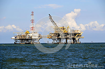 Oil Rig Platfrom