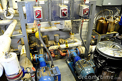 Oil sands pump facilities Editorial Photography