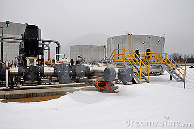 Oil sands pump facilities