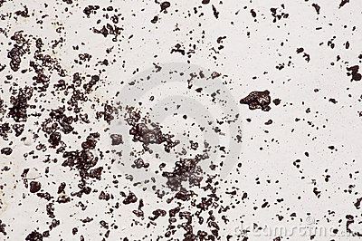 Oil splats on Pensacola Beach Editorial Photo