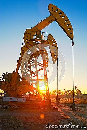 The oil sucking machine