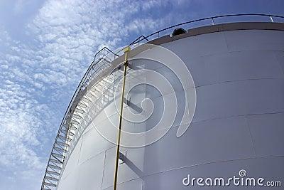 Oil tank closeup