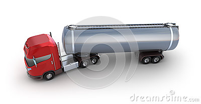 Oil Tank Delivery Vehicle