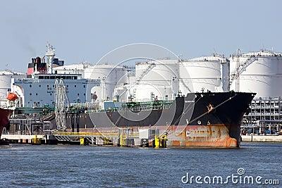 Oil tanker Editorial Image