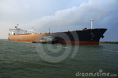 Oil Tanker in Bound