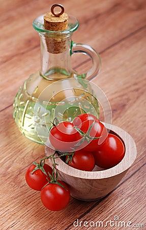 Oil and tomato