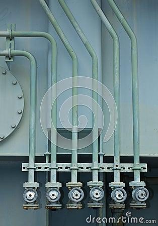 Oil valve of transformer