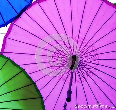 Free Oilpaper Umbrellas Stock Image - 113158151