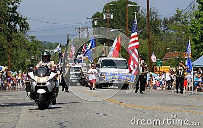 Ojai 4th of July Parade 2010 Editorial Photo