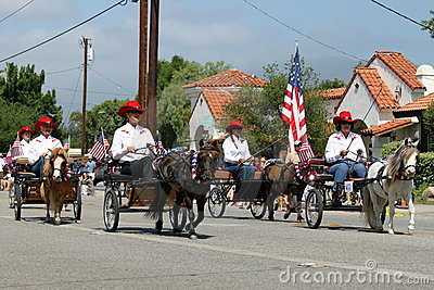 Ojai 4th of July Parade 2010 Editorial Image