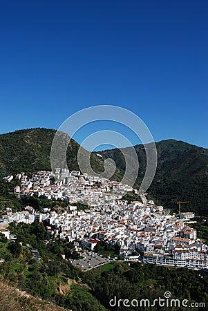 Ojen, Andalusia, Spain.