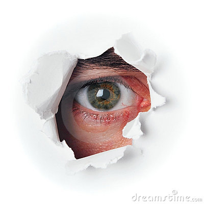 Ojo del espía