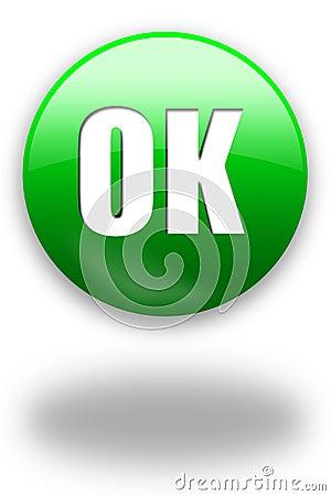 OK button / sign