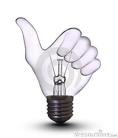 Ok hand lamp bulb
