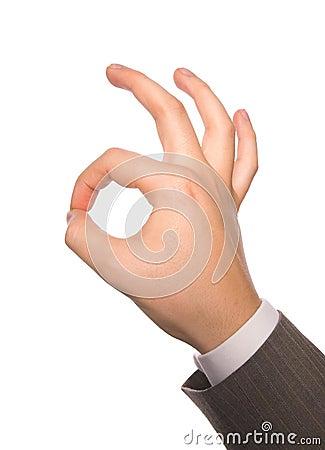 A-OK hand sign