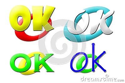 OK logos collection