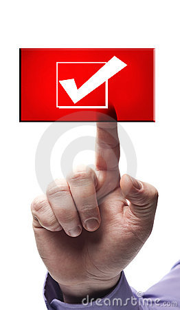 Free Ok Sign Button Royalty Free Stock Images - 22547679