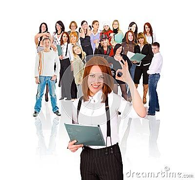 Free Ok Staff! Stock Images - 5415934