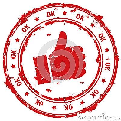 Ok stamp