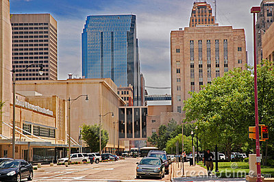 Oklahoma City downtwon