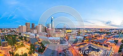 Oklahoma City, Oklahoma, USA Skyline Stock Photo