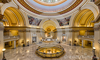 Oklahoma State Capitol Building Editorial Image