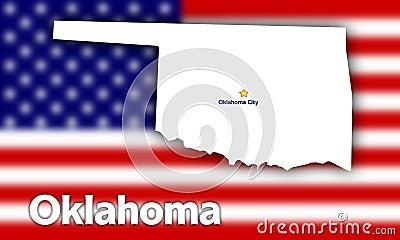 Oklahoma state contour
