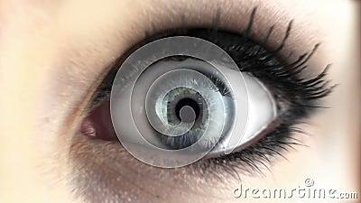Oko z środkiem wybuchowym zbiory wideo