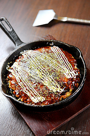 Okonomiyaki japan food