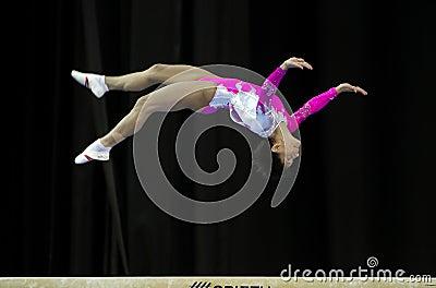 Oksana Chusovitina Editorial Photo
