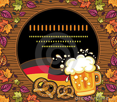 Oktoberfest的装饰